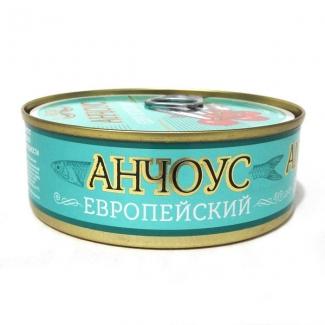 Анчоус европейский обжаренный в томатном соусе