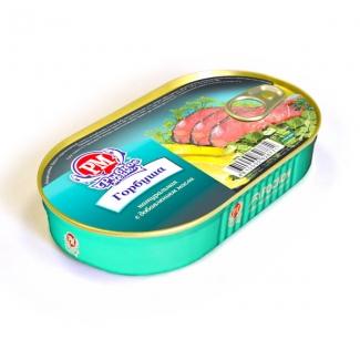 """Горбуша натуральная с доб. масла филе """"РосКон"""""""