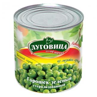 """Горошек зеленый из мозговых сортов """"Луговица"""""""
