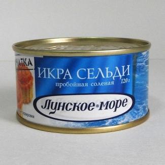 """Икра сельди """"Лунское море"""" 120гр"""