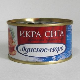 """Икра сига """"Лунское море"""" 120гр"""