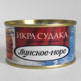 """Икра судака """"Лунское море"""" 120гр"""
