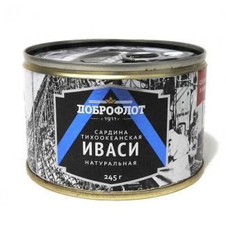 """Иваси натуральная 245г """"Доброфлот"""""""