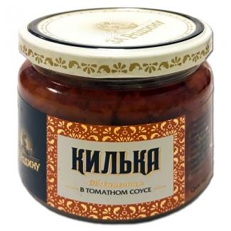 """Килька обжаренная в томатном соусе 250г """"За Родину"""""""