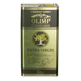 Масло оливковое первого отжима OLIMP (extra virgin) 5л Греция