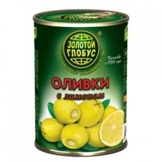 """Оливки с лимоном """"Золотой Глобус"""""""