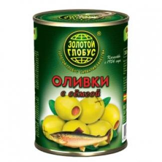 """Оливки с семгой """"Золотой Глобус"""""""
