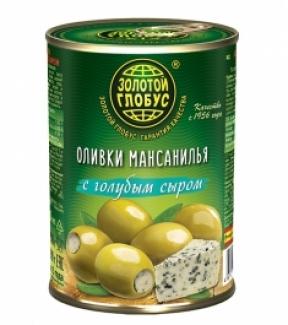 """Оливки с голубым сыром """"Золотой Глобус"""""""