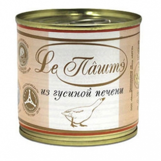 """Паштет сливочный из гусиной печени """"Le Паштэ"""""""