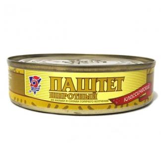 """Паштет шпротный 160гр """"5 Морей"""""""