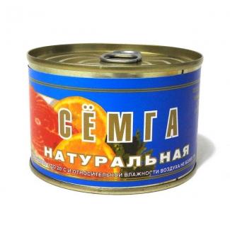 """Сёмга натуральная """"Устькамчатрыба"""""""