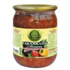 """Салат Баклажаны с овощами в томатном соусе """"Золотой Глобус"""""""