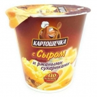 """Пюре картофельное с ржаными сухариками и сыром """"КАРТОШЕЧКА"""""""