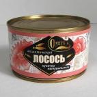 """Лосось кусочки натуральный """"ОSETR"""""""