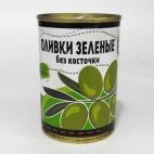 """Оливки зеленые без косточки 280г """"Новый Сезон"""""""