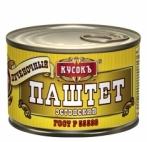 """Паштет печеночный ЭСТОНСКИЙ 230г """"Кусокъ"""""""