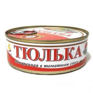 """Тюлька обжаренная в томатном соусе """"Пролив"""""""