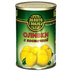 """Оливки с косточкой """"Золотой Глобус"""""""